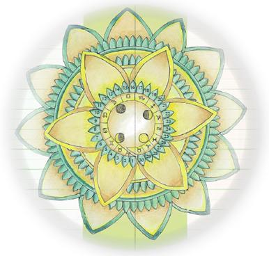 kruh mandala 9 září